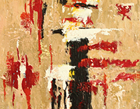 Abstract Acrylic Paintings
