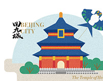 Illustrations for Beijing City Magazine