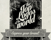 Top logos of the World infographic