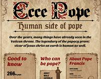 Ecce Pope infographic