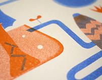 R&D stencil print