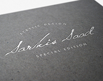 Sarkis Saad | Acrylic Design