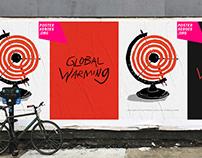 Global Warming / Poster / Linocut