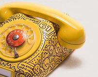 Doodled Phone