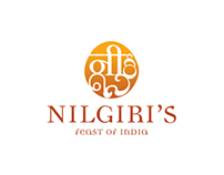 Nilgiri's Indian Restaurant - Rebranding