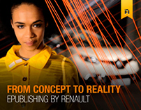 Renault Captur E-Publishing app