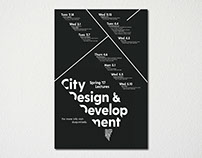 City Design & Development Lecture Series Identity