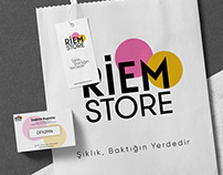 Riem Store | LOGOType and Business Identity Design