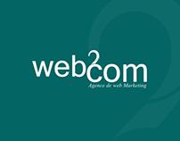 redesign identité visuelle de web2com sousse