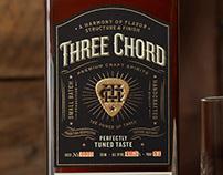 Three Chord Bourbon Packaging & Logo Design