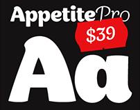 Appetite Pro. Font