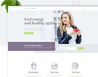 Nutrition Experts - Homepage Design Proposal