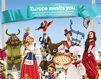 Turkish Airlines Network Print Campaign