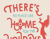 Home for the Holidays Christmas Card