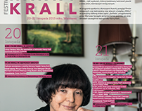 Poster & flyers for Hanna Krall's Festival