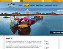 Website Design - India Calling Mockups
