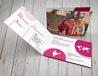 Swasti Annual Report - Print Design.