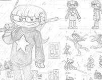 Concept Sketchbooks 1: the world of Cosmos