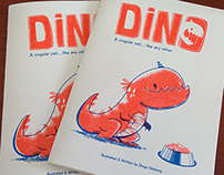 DINO by Diego Vaisberg - Risograph book