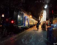 サンタルチア駅/Stazione di Venezia Santa Lucia