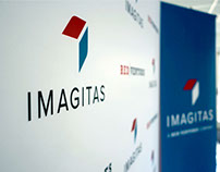 Brand Identity // Imagitas corporate collateral