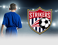 Strikers - Sport Logo