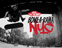 VANS Bowl-a-Rama - NEW YORK CITY
