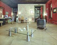 1998-2002. Gallery VF. Sadovaya Karetnaya 20/6.