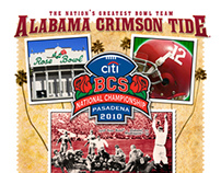 Alabama Championship T-shirt designs