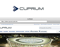 CUPRUM / Corporate Site