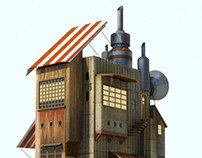 mechanical house