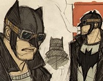 Batman 50's Rockabilly Universe