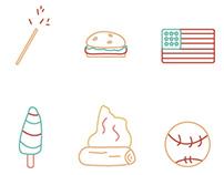 America Illustrations