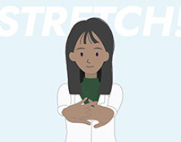 Stretching Routine | Illustration