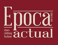 Epoca Actual Boutique Logotipo