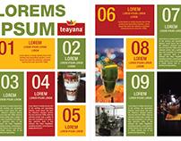 Teayana Newsletter Layouts
