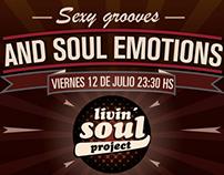 Livin Soul Project ( flyer & video )