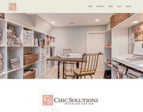 Chic Solutions Interior Design - Website & Branding
