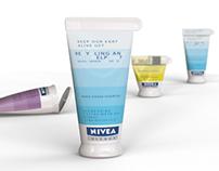Recycling NIVEA VISAGE line
