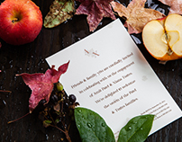 A/X Fall Invitations