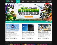 Redesign Brasil Gamer TV