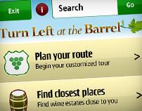 Location-based Symbian Winefarm App