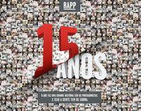 Rapp . 15 anos Rapp Brasil
