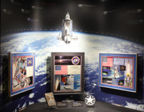 Shuttle Program Artifact Display