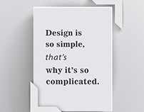 Design? yes it is.