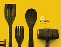 Kitchen Camp · Branding