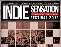 Indie Sensation Flyer