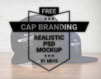 Cap Branding - Free PSD Mockup - UPDATE