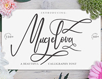 Mugelova Calligraphy Font