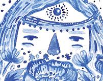 Watercolour Blues: Monday